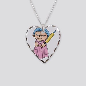 wife [Converted]-01 Necklace Heart Charm